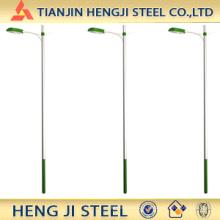 Tubulação de aço galvanizado para poste da lâmpada
