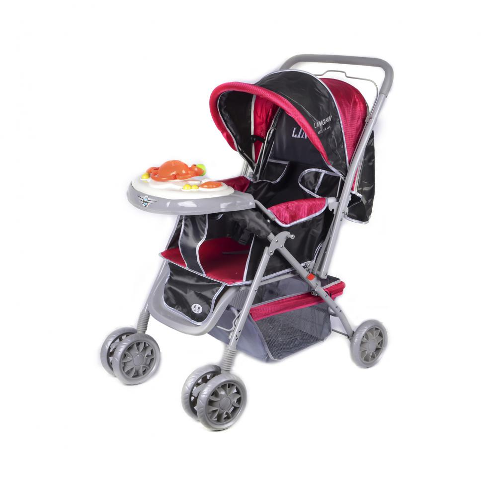 Lightweight Classic Baby Stroller with Handle Bar