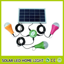China fábrica venta por mayor venta caliente Led Kit de energía Solar Residencial