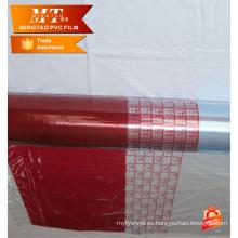 Película impresa agradable del paquete del blíster del pvc para el colchón