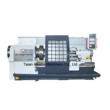 Torno elétrico do CNC da máquina Ckg1335b da rosqueamento da tubulação