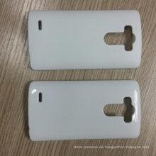 Blanco casos en blanco Funda de teléfono de sublimación 3D para G3