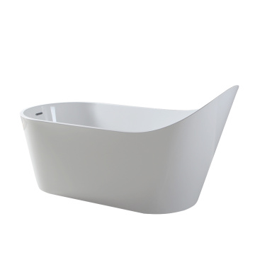 Resin Slipper Bath Tub Berdiri Bebas