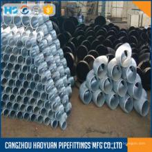 Codo de conexiones de tubería de hierro galvanizado sumergido caliente