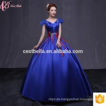 Satin Ballkleider Quinceanera Kleider Nach Maß Qualität Designer Hot Pink Rot Blau SweetHeart Abendkleid