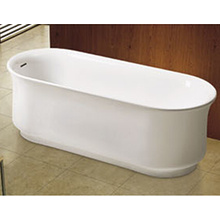 Vases Shape America Style Thin/Sharp Rim Freestanding Stand Alone Bathtub