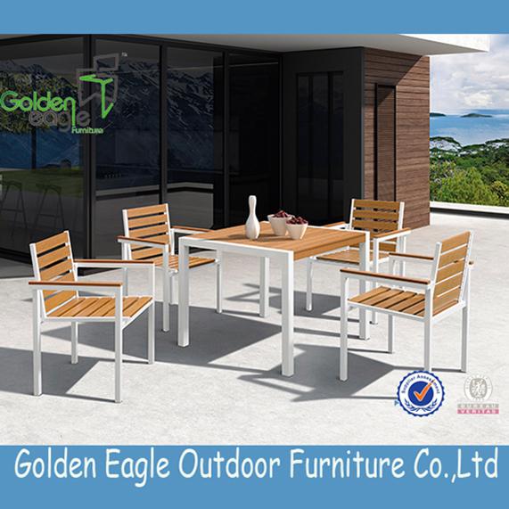 Polywood Aluminium garden dining Furniture