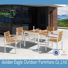 Gorąca sprzedaż zewnętrzna aluminiowa rama Polywood Furniture