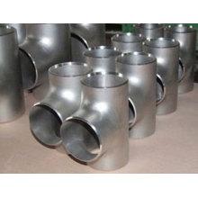 JIS 1/2 ′ ′ - 48 ′ ′ sem costura de solda de aço carbono Tee
