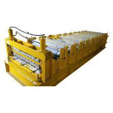 Máquina curvadora para folha da telhadura