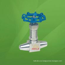 Válvula de aguja de planta de energía (GAJ61W)