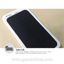5000mAh Best Portable Solar Panel Battery Charger