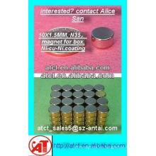 Leistungsstarke n48 gesintert Scheibe Seltenerd-Magneten