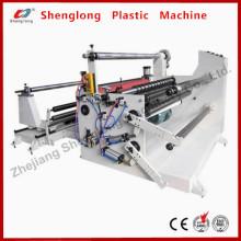 Máquina de rebobinado de corte automático para Adhseive Tape / Pet / PVC