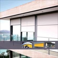 Top10 Meistverkaufte Heiße Qualität vertikale horizontale Motorisierte Outdoor-Rollos mit Sonnenschutzgewebe