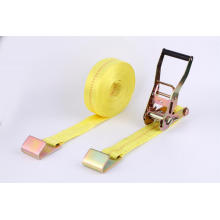 Cinturón de amarre con gancho plano de 5 mm y 50 mm.