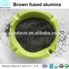 Oxyde d'aluminium 95% d'alumine fondue marron pour le sablage