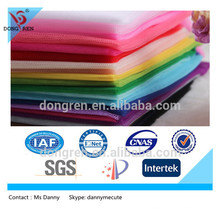 polyester mesh fabric mosquito net fabric for DRF