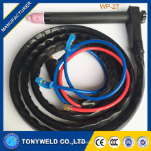 Competive price gas cooled welding tig torch WP-27 tig series