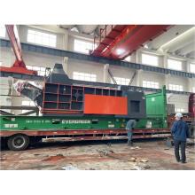 Compactador de chatarra de acero hidráulico automático de fábrica