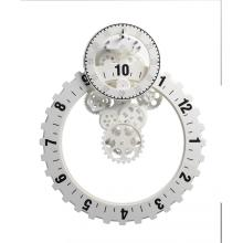 No.3 Big Silver Gear Reloj de pared
