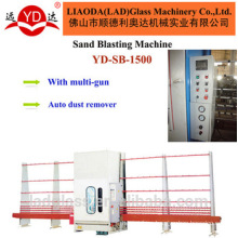 PLC Control Automatic Vertical Glass Sandblasting Machine