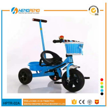 CE approved kid riding tricycle with basket