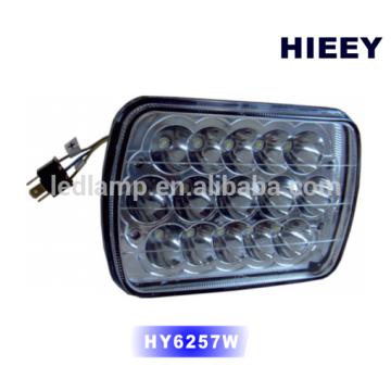 "5 ""x7"" rectangle LED haut / bas faisceau lumière phare phare hors route phare"