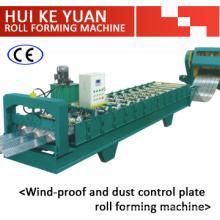 Wälzfräsmaschine für Windschutz und Staubkontrolle