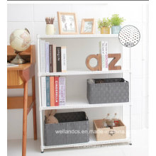 2014 New Adjustable 3 Tiers Powder Coating Perforated Metal Book Shelving for Home (MR603090C4)