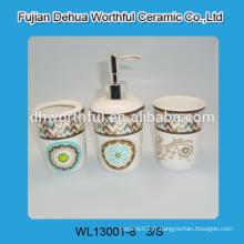 Ensemble d'accessoires de salle de bains en céramique de style nouveau 2015, maillot de bain en trois pièces