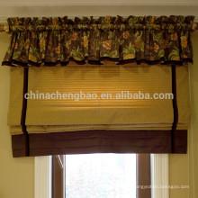 Décoration intérieure rideaux rideaux romans classiques avec valence attachée