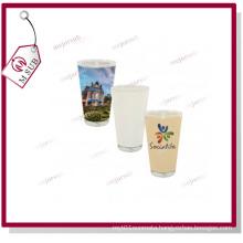 16oz Sublimation Personalized Print Glass Pint Mug