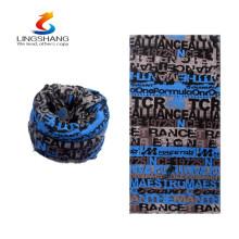 Nuevos productos calientes para la bufanda barata 2016 del lingshang del tubo fantástico del patrón la aduana imprimió el pañuelo