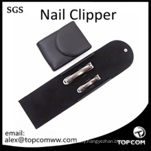 Nail Clippers Set Leather Case, Fingernail & Toenail Perfect Nail Cutter