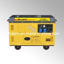 10kw aire-enfrió dos generador diesel del cilindro (DG15000SE)
