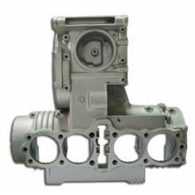 Серый корпус воздушного компрессора воздуха