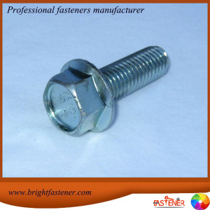 High Quality for Supply of Flange Bolts, Collared Hex Bolts, Heavy Hex Tap Bolts Manufacturers High Quality DIN6921 Hexgaon Flange Bolt supply to Dominican Republic Importers