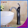 Fyeer Orb Design torneira da pia do banheiro pia do banheiro torneira de água quente e fria com único punho de lavar Bibcock