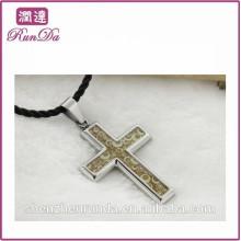 2014 wholesale alibaba western cross pendant para la venta