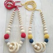 Handgemaakte Verklaring Ketting Bead Crochet ketting