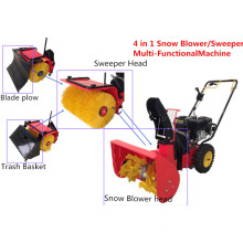 4 in 1 Sweeper / Snow Blower Multi-Function