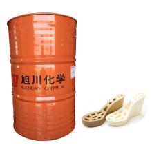 Polyurethanharzmaterial zum Gießen von Riemensandalen