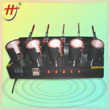 Máquina de transferência de calor de impressão de copo de alta qualidade, 5 em 1