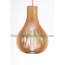 Industrial wood Pendant Lamp fixtures for dinning room, hanging light
