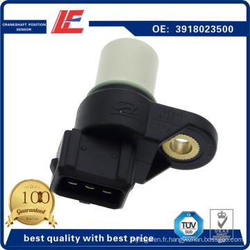 Capteur de position du vilebrequin automatique Indicateur du capteur de vitesse du moteur Capteur Rpm du capteur 3918023500, 3918023910, J5660300, V52-72-0092 pour Hyundai, KIA