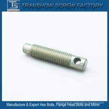 Parafuso sem cabeça galvanizado de aço suave (M8x30)
