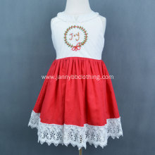 Girls Beautiful Cotton Linen Casual Dress