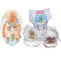 CE & ISO9001 Certificated tirón del bajo costo en el pañal del bebé que hace la máquina