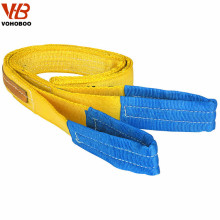 5 ton Grade A polyester made construction safety lifting belt sling